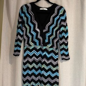 Trina Turn chevron print dress